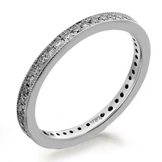Picture of Four bead pave set eternity band