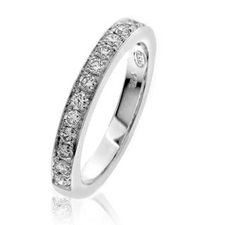 Picture of Two bead pave set eternity band