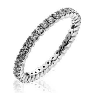 Picture of Double prong eternity band