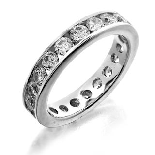 Picture of Channel set eternity band