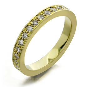 Picture of Five bead pave set eternity band