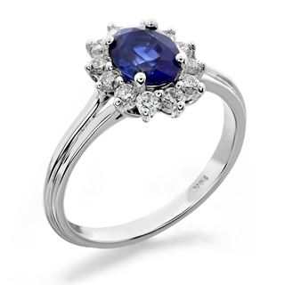 Picture of Gemstone fashion-oval center