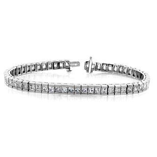 Picture of Tennis bracelet princess cut stones