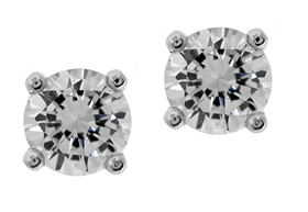 Picture of 4 prong studs for round center stone