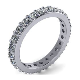 Picture of Prong set eternity band one row