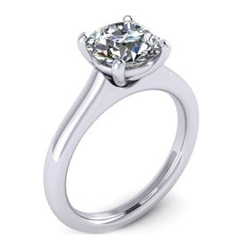 Picture of 4 prong basket flush fit solitaire