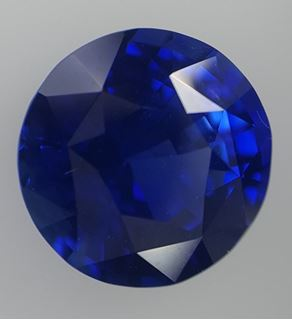 Picture of blue sapphire